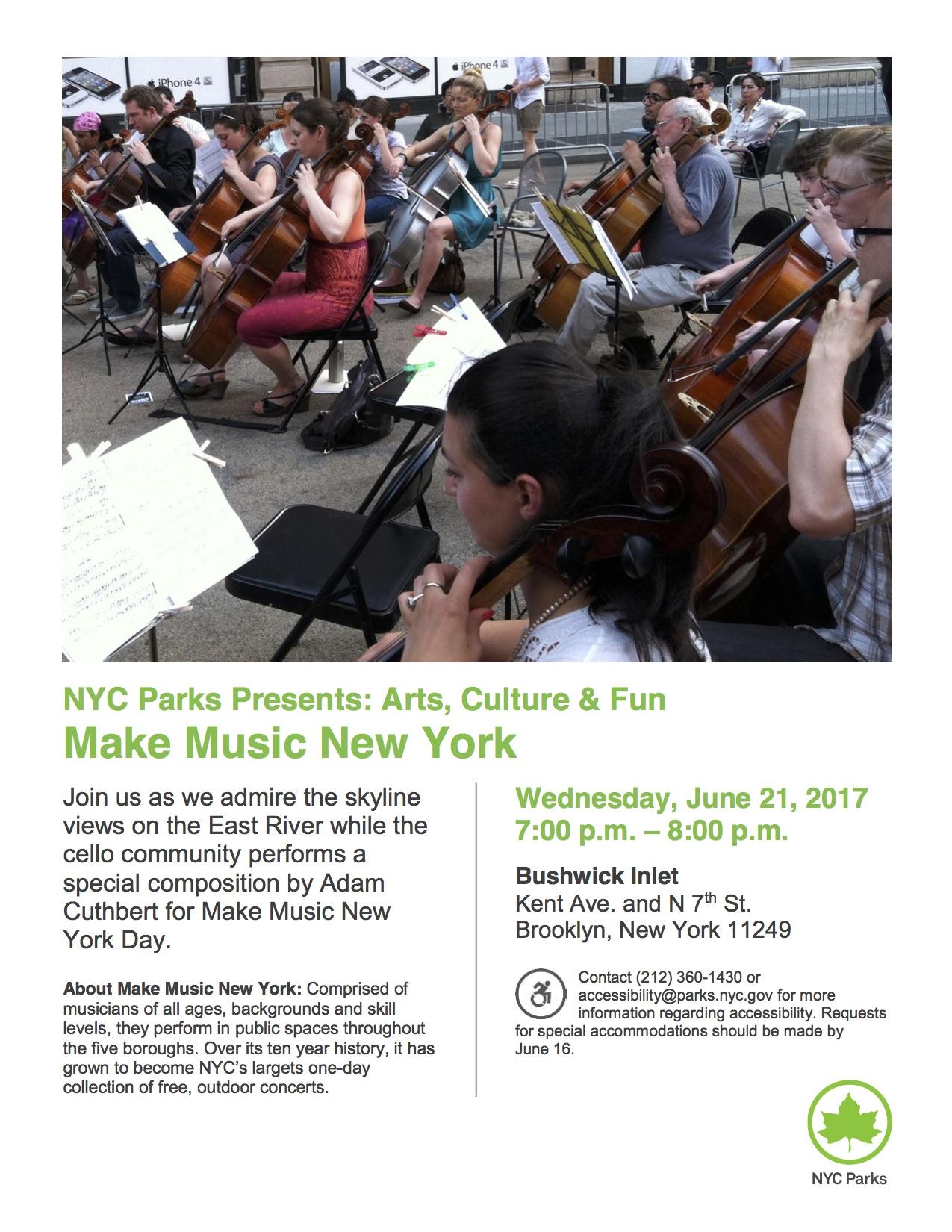 6.21.17 ACF Make Music NY Bushwick Inlet
