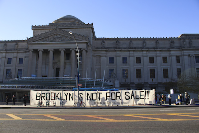Good News Is That This Morning They >> Hey, ho, gentrification's got to go: Scenes from a real estate protest outside the Brooklyn ...