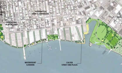 Greenpoint Williamsburg Waterfront Master Plan Map
