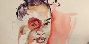 Watercolor Painting at BIP