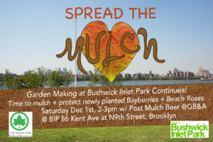 Spread the Mulch at BIP!