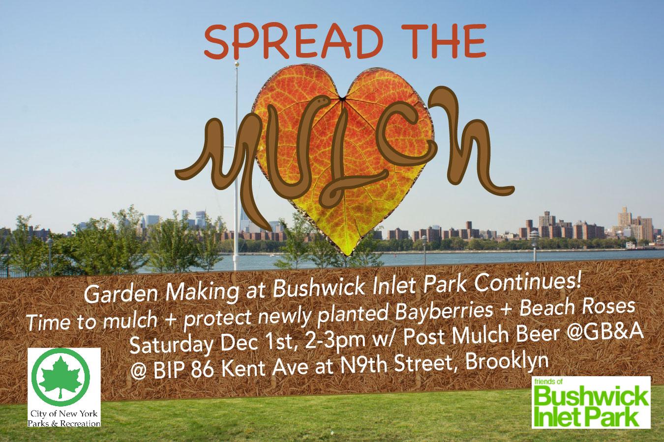 Spread the Mulch at BIP!
