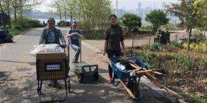 FBIP gardening volunteers