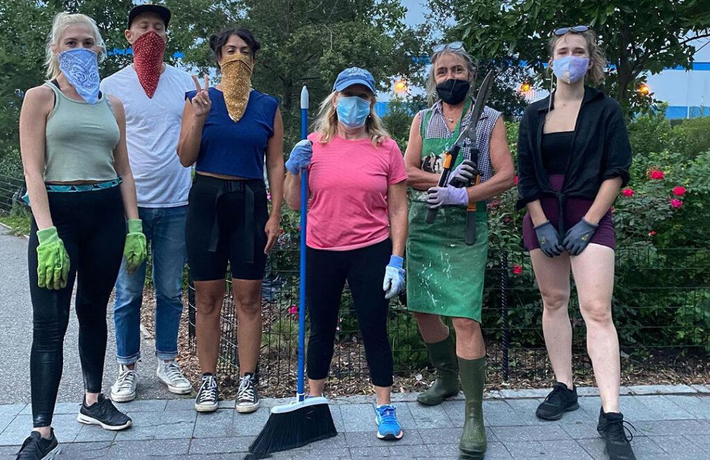 FBIP volunteer gardeners